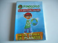 DVD NEUF - ON VA SAUVER LA PLANETE / PINOCCHIO 1er DVD ECOLO-EDUCATIF VOL 1
