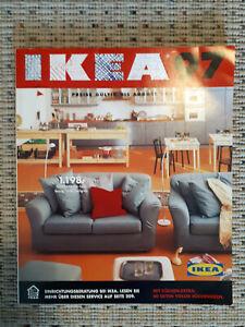 Ikea Katalog von 1997, Logo ausgemalt, sehr gut erhalten