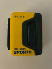 raro lettore vintage musicassette sony walkman sports wm-b53 cassette player