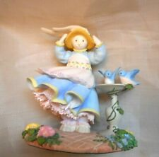 Lenox Cold Cast Porcelain Figurine Lynn Bywaters Blossom's Breezy Day Rabbit