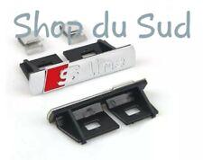LOGO AUDI S LINE Calandre Emblème Logo SLINE BADGE A1 A3 A4 A5 A6 Q3 Q5 Q7 ...