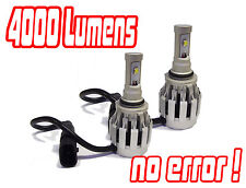 9006 Hb4 Cree LED Headlight Bulbs Conversion Kit Hid Mitsubishi Evo 7 8 03-05