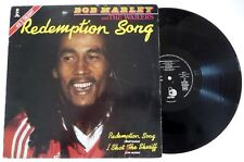 "MAXI 45 / BOB MARLEY AND THE WAILERS ""REDEMPTION SONG"" / ISLAND 1980"