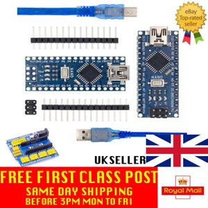 Nano V3.0 compatible with Arduino CH340G 5V 16M ATmega328P USB UK Seller