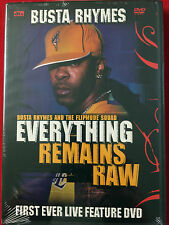 NEW! Busta Rhymes - Everything Remains Raw: Live (DVD,2004) Flipmode Squad (Rap)