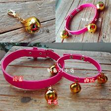 Anime Cos K Project Neko Ear Clip Necklace Necklet Collar Bells Foot Ring Vervel