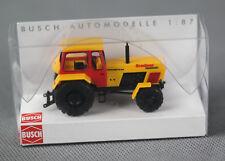 """BUSCH 42824 (H0, 1:87) - Traktor Fortschritt """"Graubner Transport"""" - NEUWARE, OVP"""