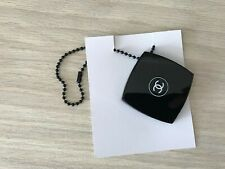 Vip Gift Chanel charm Black Mirror on chain compact new