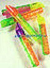 12 X PRETTY GLITTER FLUTES Childrens Party Bag Pocket Money Toys + FREE BAG