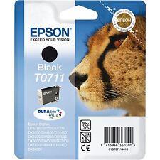 Original Epson T0711 Schwarz (C13T071140) Tintenpatrone four EPSON C13T071140