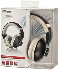 NEW DELUXE QUALITY ULTRA COMFORTABLE STURDY MAGNUS TRUST HEADSET WITH INLINE MIC