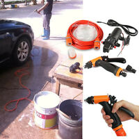 100W Portable 12v car washer high pressure with car Electric water pump