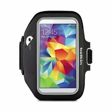 New Belkin Sport-Fit Armband for Samsung Galaxy S4 S5 Smartphone - Black