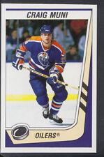 Panini 1989-1990 NHL Ice Hockey Sticker No 80 - Craig Muni - Oilers