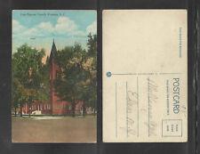1930s FIRST BAPTIST CHURCH FLORENCE SC POSTCARD