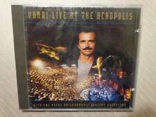 YANNI  LIVE AT THE ACROPOLIS  &  ROYAL PHILHARMONIC ORCHESTRA  -  CD 1994  NUOVO