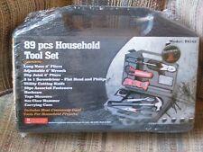 89 PCS Household Tool Set Kit Repair Hard Case DIY Handy