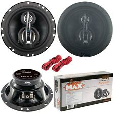 SPEAKERS 16,5 CM 165 MM LANZAR MX63 MX 63 800 WATTS TRIAXIAL 400 WATTS RMS CAR