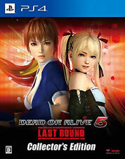Dead or Alive 5: Last Round -- Collector's Edition (Sony PlayStation 4, 2015)...