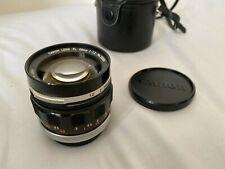 Canon FL 58mm f1.2 Lens