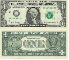 Etats-Unis - 10 billets de 1 Dollar 2017 - Neuf - UNC