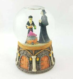 2001 Harry Potter Enesco Hungarian Dance #5 Snape Cauldron Musical Snow Globe