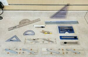 Weems & Plath Navigation Set + Staedtler Compass Set Pre-owned Free Shipping