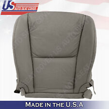 Fits 2006 to 2011 Lexus Gs350 Driver Bottom Leather Perforated Seat Cover Gray