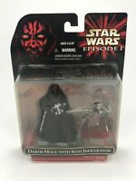 Star Wars Episode 1 DARTH MAUL with Sith Infiltrator Hasbro, 1999