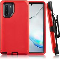 For Samsung Galaxy Note 10+ Plus Full Body Defender Case & Clip Fit OTTERBOX Red