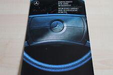 115331) Mercedes - Airbag - Prospekt 08/1987