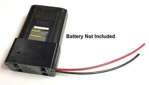 Adapter for Kobalt 40V lithium battery 1ft 10AWG gauge lithium power output