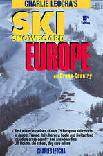 (Good)-Ski Snowboard Europe: with Cross Country (Paperback)-Charles Leocha-09150