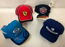 New listing Lot of FOUR – BRAND NEW Formula 1 Racing Hats!