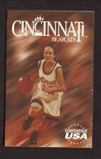 Cincinnati Bearcats--1997-98 Basketball Pocket Schedule--State Farm