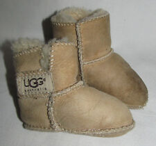 Ugg Erin Brown Bootie Slipper Boots Shoes Infant Baby Size Small Sold AS IS