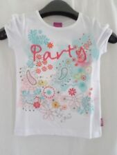 Abbigliamento floreale con girocollo per bambine dai 2 ai 16 anni 100% Cotone