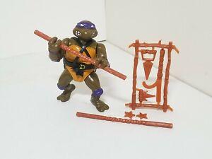 Vintage 1988 Teenage Mutant Ninja Turtles TMNT Donatello Figure 100% Complete