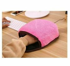 Heated Mouse Mat Warm Usb Heating Mice Pad Winter Pink Protable Hand Warmer