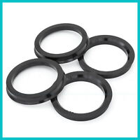 Customadeonly 4 Pieces Polycarbonate Hub Centric Rings 64.1mm Wheel Bore to 60.1mm Factory Hub