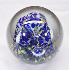 Adam Jablonski Made in Poland Crystal 2 lb Art Glass Paperweight