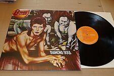 DIAMOND DOGS  -  DAVID BOWIE  - UK RCA VICTOR LABEL - GATE FOLD SLEEVE - 1974.