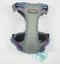 New listing Blueberry Pet Reflective Padded Dog Vest Harness, Size S, Multi-Color/Gray *New