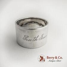 Vintage Napkin Ring Sterling Silver Gorham 1900
