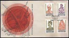 Freedom Struggle India First War Mangal Pandey Tatya Tope Hazrat Mahal FDC 1984