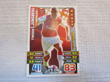 Freddie Ljungberg - Arsenal -  Cult Hero 2015/16 Match Attax Trading Card