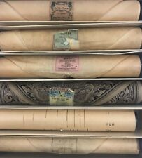 Vintage Player Piano Rolls Set of 6 Assorted Songs Box 3