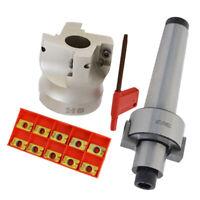 Portautensile Per Fresatura MT3 FMB22 + Fresa 400R + Inserti APMT1604 Da 10