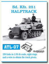 Friulmodel Metal Tracks for 1/35 SdKfz.251 Half-track (120 links) ATL-07