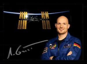 Alexander Gerst Astronaut Weltraumfahrt Original Signiert # BC 176016
